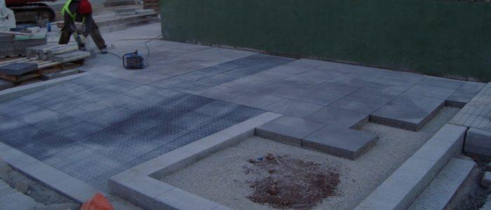 Obras de urbanización. CADERSA, SL