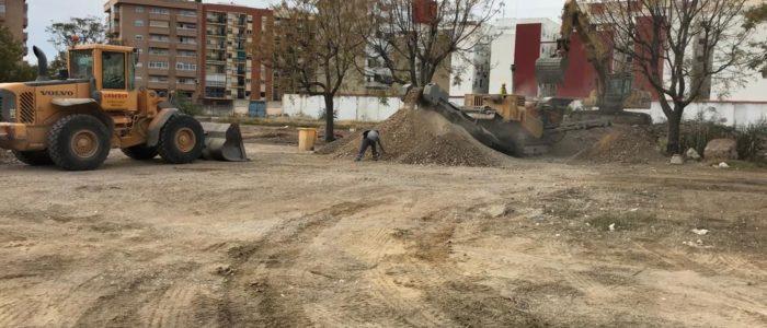 Derribo, demolición instalaciones Ejército de Tierra de València. CADERSA, SL