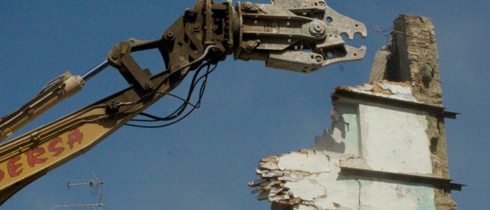 Demolición del Teatro Princesa de València. CADERSA, SL